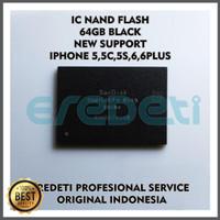 Ic Nand Flash 64gb Black New Support Iphone 5g.5c.5s.6g.6 Plus Diskon