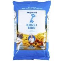 Tepung Terigu Kunci Biru 1kg, 1dus