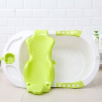 ALAT BANTU MANDI BAYI BABY BATH HELPER BABY BATH TUB HOLDER - Merah Muda