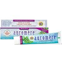Auromere Ayurvedic Herbal Toothpaste, Mint Free - Vegan, Natural, Non