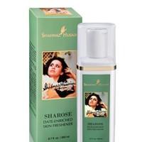 Shahnaz Husain Sharose Date Enriched Herbal Ayurvedic Skin Toner Lates