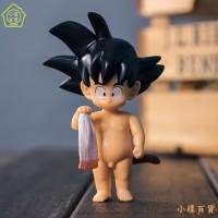 Mainan Boneka Bayi Dragonball Goku Dengan Lampu Untuk Hadiah Anak