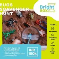 Mainan Sensory - BUGS SCAVENGER HUNT - Exploration anak usia 1-6 thn