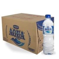 AQUA 600 ml/24 botol tanggung