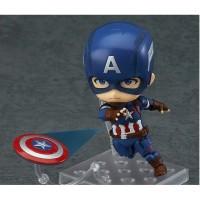 Action Figure Anime Marvel Nendroid 618 KW Captain America - Amerika