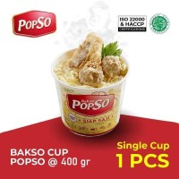 Bakso Cup Popso - 400 gram Paket Isi 1 Cup