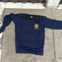 Baju Kaos Security Tembak Lapangan biru Dongker