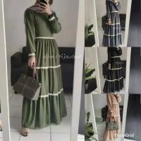 Baju Anindya Maxi Dress Renda Gamis Murah Baju Gamis Wanita Terbaru