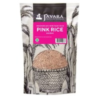 Javara Saudah Polished Organic Rice - Beras Organik Pink Saudah 900g