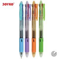 Ball Pen / Pulpen / Pena Joyko BP-199 / Trico/ 0.7 mm/ 3 Warna/ Colors