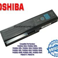 Baterai Laptop TOSHIBA Satellite L510 PA3634U-1BAS / BRM