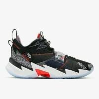 sepatu basket nike jordan why not zero 3 PF black cement XDR bnib