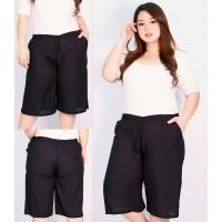 Celana Kulot Pendek Wanita LP 66 - 104 cm Big Size Katun Rayon Steffi