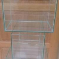 aquarium kaca dengan ukuran 30 x 20 x tinggi 20 ...