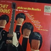 piringan hitam /vinyl guitar legend Chet Atkins play the beatles