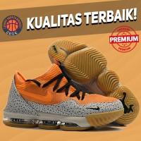 Sepatu Basket Sneakers Nike Lebron 16 Low Safari Atmos Pria Wanita
