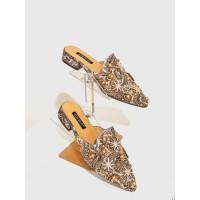 Sandal Slip On Batik Arumi