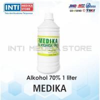MEDIKA - Alkohol 70% 1 Liter / Alkohol Antiseptik