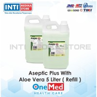 ONEMED - Aseptic Plus 5 Liter / Refill Hand Sanitizer With Aloe Vera