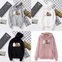 sweater hoodie pink baju wanita hoody hoodi anak anak remaja korea