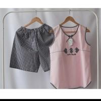 baju tidur yumiko katun jepang piyama wanita/cewek best seller