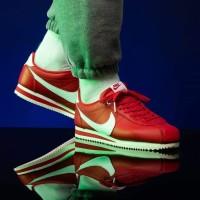 Sepatu Nike Cortez x Stranger Things 1985 Red White - Premium Original