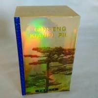 Ginseng Kianpi Pil - Gold Hologram - Obat Herbal Penambah Nafsu Makan