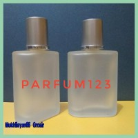 Diskon Botol Parfum Semprot Spray Kaca 30Ml Doff Tutup Silver Aqua Di