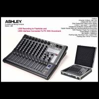 ASHLEY LM8 / LM8 Mixer Audio ASHLEY 8 channel - ORIGINAL