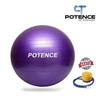 POTENCE ANTI BURST GYMBALL WITH PUMP 65CM / BOLA YOGA