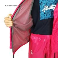Raincoat Jas Hujan Rainshield 02 Kalibre 970304 Original - Merah
