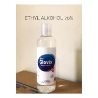 GLOVIX Aseptic Gel All Med Antiseptic Liquid Hand Sanitizer 250ML