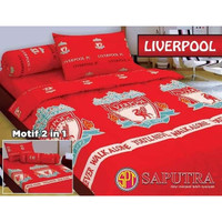 Bedcover Liverpool 120x200 - Bedcover Single - Bad cover motif bola