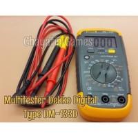 READY Multitester / Avometer / Tester Digital Merk DEKKO Type DM 133D