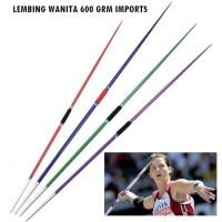 lempar lembing alat atletik wanita import 600 Gram