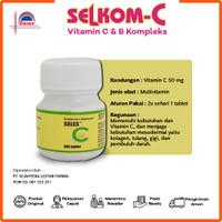 Selkom C I Seles C I Vitamin C 25MG Botol Isi 100 Tablet