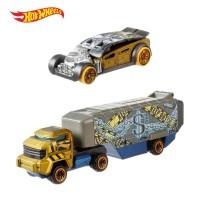 Terbaru!!!! Hot Wheels Super Rigs Bank Roller - Mainan Mobil Balap