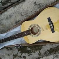 Rare Gitar Akustik Junior Samick DS-100SM N Original Made in Indonesia