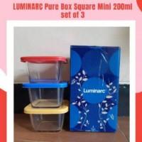 Ready Stock MPASI Food Container LUMINARC 200ml bahan kaca tebal