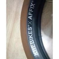 TERLARIS 2 ban luar BMX KHEBIKES AFFIX warna Coklat ukuran 20 x 2.40