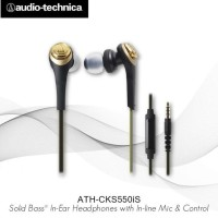 Audio-Technica Ath-Cks550Is Bgd ( Ex ) Black / Gold