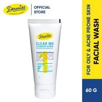 Dermies Clear Me Cleanser Scrub 60 ml For Oily & Acne Prone Skin