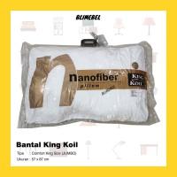 [JUMBO] King Koil Nano Fiber Comfort King Size Pillow 60x90cm/Kingkoil