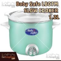 Baby Safe LB07M Slow Cooker Digital 1.2L Alat Masak Penghangat Makanan