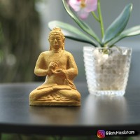 Souvenir Patung Budha Aksesoris Aquascape T 14 cm