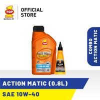 Paket Motor Matic B - TOP 1 ACTION MATIC 10W-40 | 0.8 L