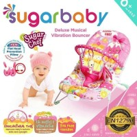 Sugar Baby [Deluxe Musical] Recline Bouncer - Pink