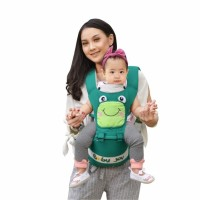Gendongan Bayi Depan Hipseat Hip Seat Baby Joy Froggie