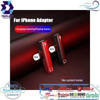 Adapter Lightning to Jack 3.5mm Audio Converter Aux iPhone Splitter