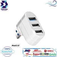 USB Hub 2.0 3.0 Splitter Fast Charging Mini Adapter Tripledi PC Laptop